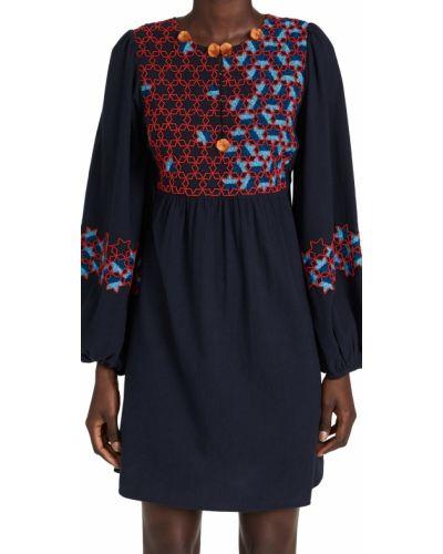 Sukienka długa z długimi rękawami Figue