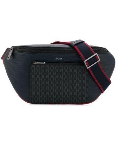 Кожаная сумка Boss Hugo Boss