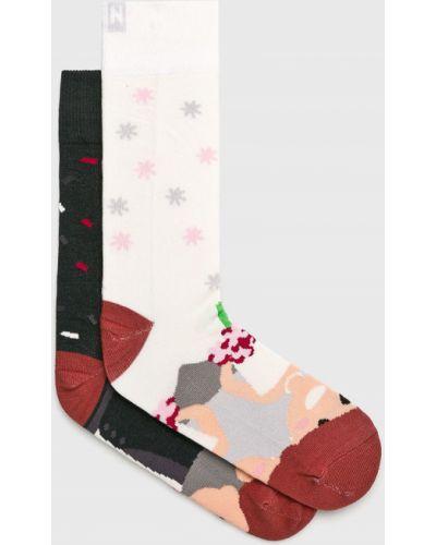 Хлопковые носки - белые Nanushki