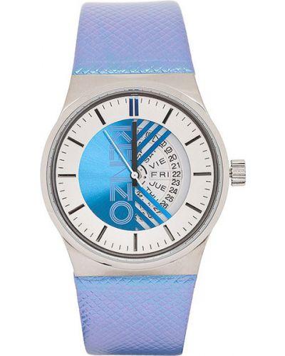 Часы водонепроницаемые с кожаным ремешком Kenzo