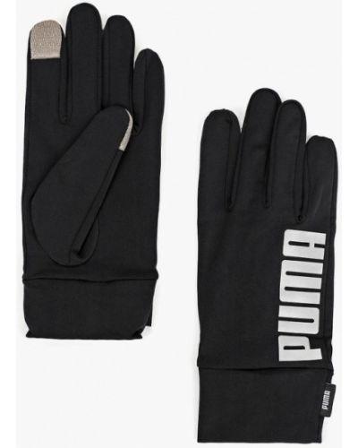 Черные перчатки 2018 Puma
