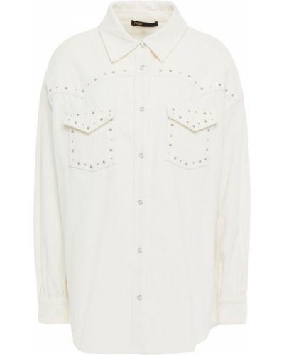 Biała koszula bawełniana - biała Maje