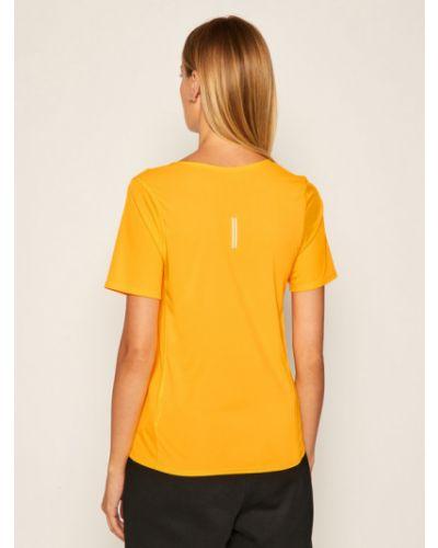 Miejski pomarańczowy t-shirt Nike