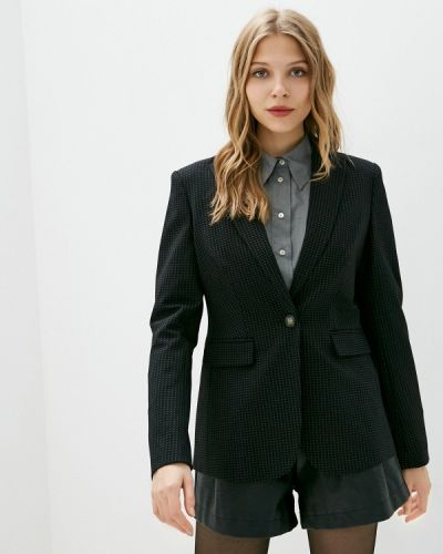 Черный пиджак Marks & Spencer