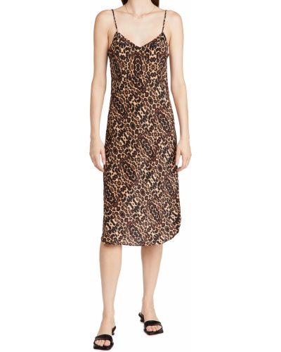 Sukienka z jedwabiu Figue