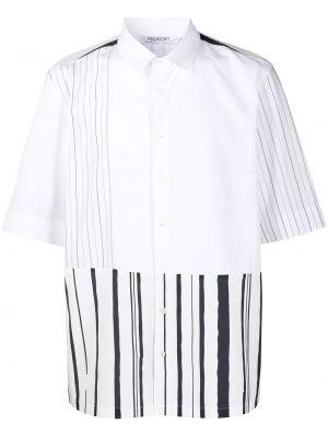 Koszula krótkie z krótkim rękawem klasyczna z paskami Neil Barrett