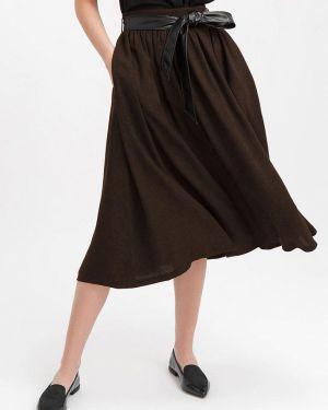 Юбка - коричневая Bizzarro