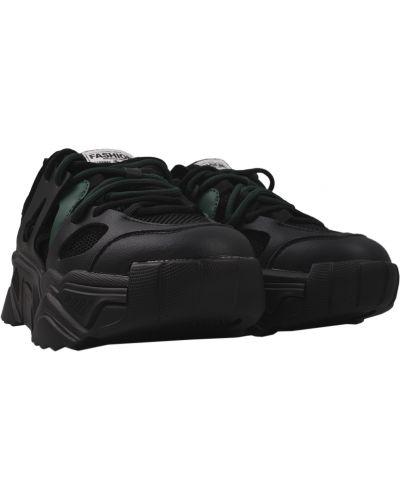 Кожаные кроссовки - черные Lifexpert