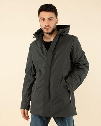 Утепленная куртка - серая каляев