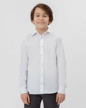 Рубашка в полоску текстильный Button Blue