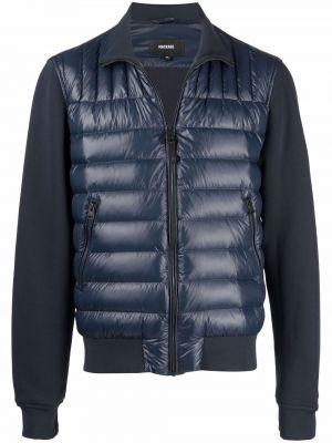Синяя хлопковая куртка Mackage