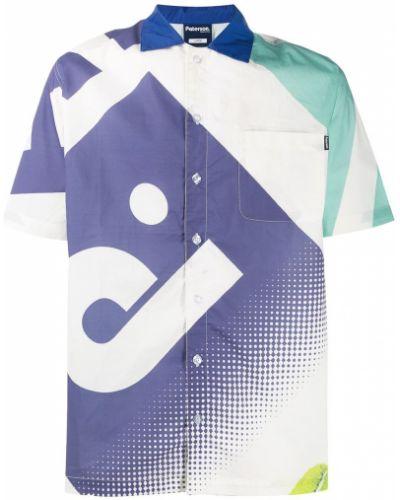 Свободная классическая рубашка с короткими рукавами на пуговицах Paterson.