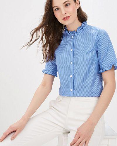 Блузка с коротким рукавом синяя весенний Vittoria Vicci