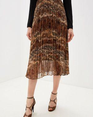 Плиссированная юбка коричневый Liu Jo