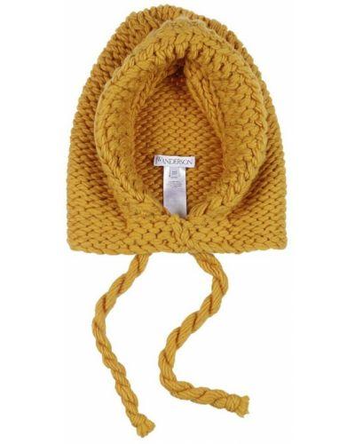 Pomarańczowa czapka Jw Anderson