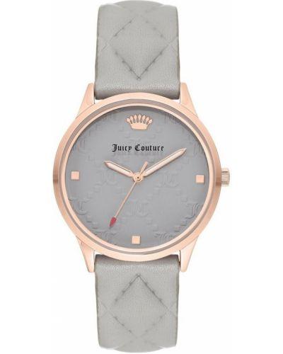 Różowy złoty zegarek mechaniczny kwarc Juicy Couture