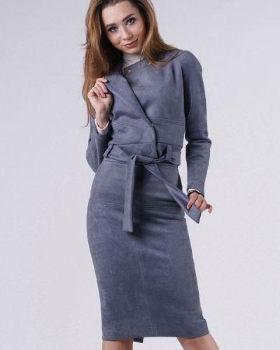 Вязаный юбочный костюм Evercode