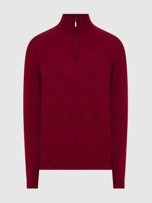 Кашемировый свитер - красный Malo