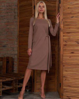 Платье с поясом в горошек платье-сарафан Victoria Filippova