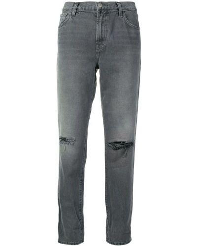 Прямые джинсы варенки на пуговицах J Brand
