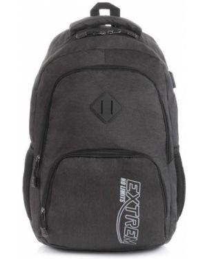 Szary sport plecak oversize Producent Niezdefiniowany