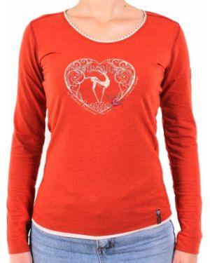 Бордовая футбольная рубашка Northland