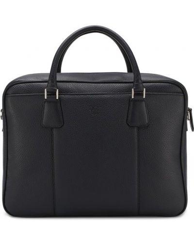 Кожаная сумка для ноутбука на руку Canali