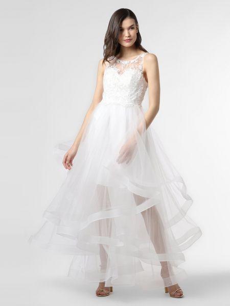 Biała sukienka wieczorowa Laona