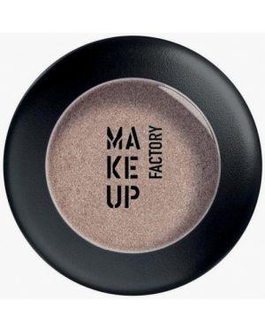 Тени для век немецкий серебряный Make Up Factory