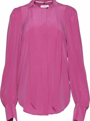 Шелковая блузка - розовая Equipment
