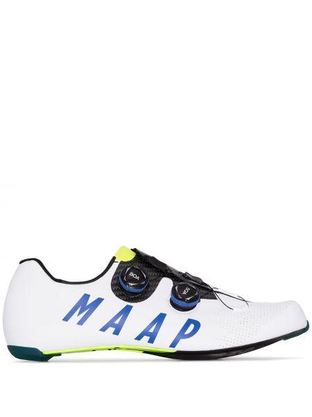 Белые туфли на шнуровке на шнуровке Maap