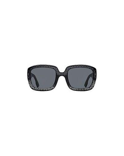 Черные солнцезащитные очки Dior