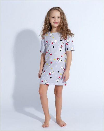 Пижамная домашняя рубашка Minaku