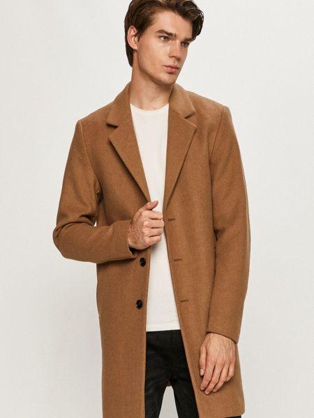 Шерстяное пальто - коричневое Produkt By Jack & Jones