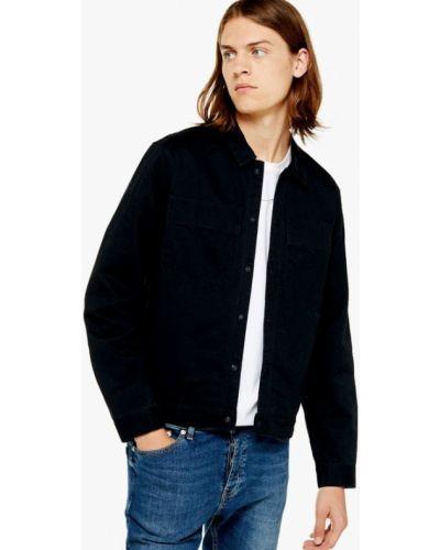 Джинсовая куртка осенняя легкая Topman