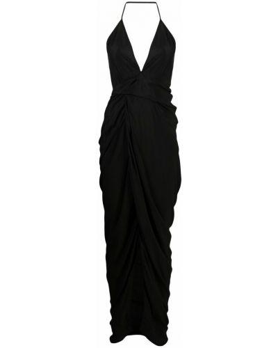 Czarna sukienka Rick Owens