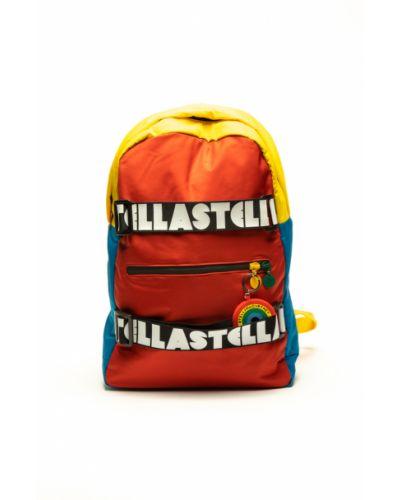 Pomarańczowy plecak Stella Mccartney
