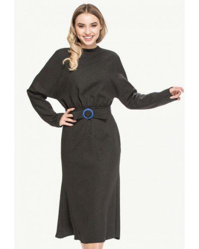 Платье осеннее черное Cavo