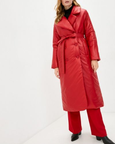 Утепленная красная куртка Pavel Yerokin
