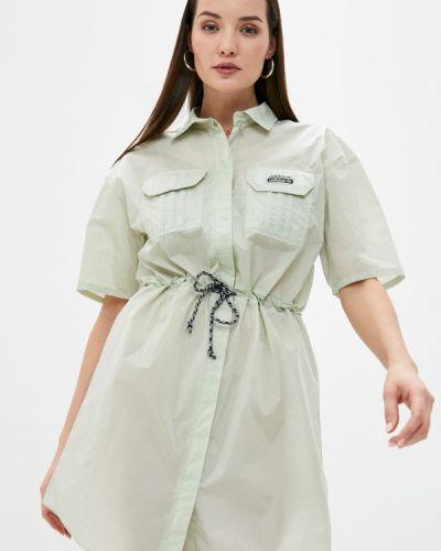 Платье - зеленое Adidas Originals
