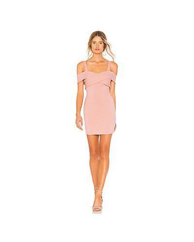 Платье стрейч фиолетовый By The Way.