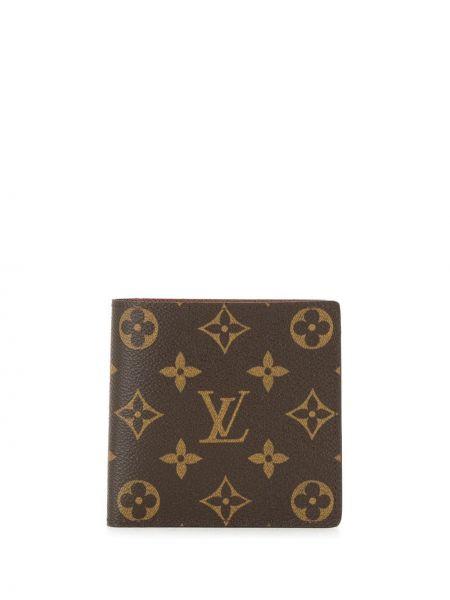 Portfel skórzany z logo na monety Louis Vuitton Pre-owned