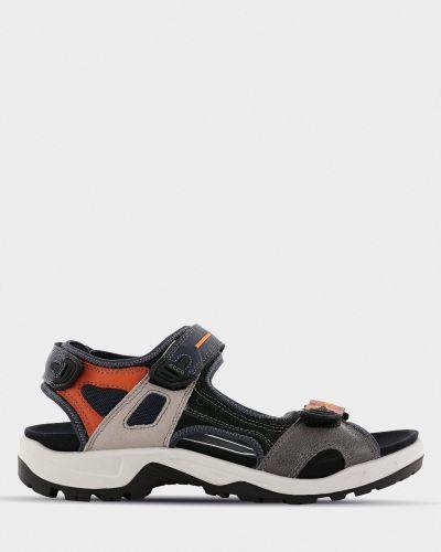 Повседневные открытые текстильные сандалии Ecco