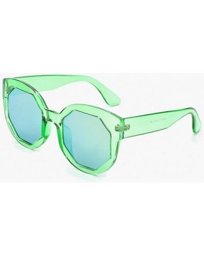 Зеленые солнцезащитные очки Kawaii Factory