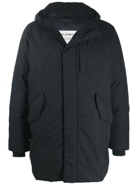 Czarna kurtka z kapturem bawełniana Rag & Bone