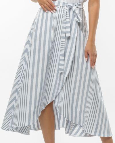 Белая юбка из вискозы Remix