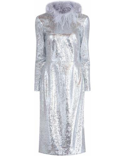 Коктейльное платье с декольте с вырезом A La Russe