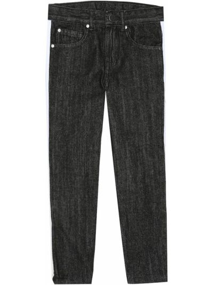 Ciemno szary bawełna bawełna jeansy Stella Mccartney Kids