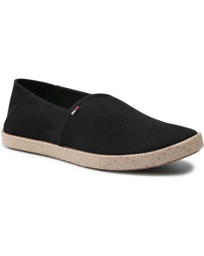 Klasyczne czarne półbuty Tommy Jeans