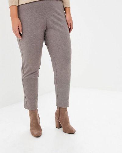 Бежевые брюки повседневные Svesta